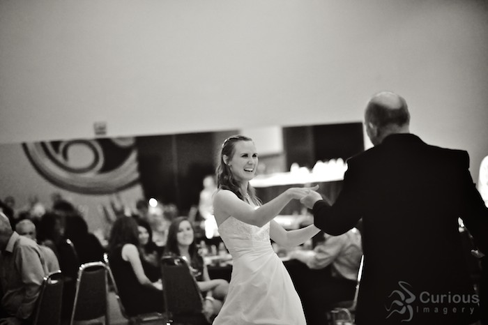 Father daughter dance.